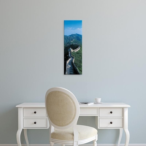 Easy Art Prints Panoramic Images's 'Great Wall of China Beijing China' Premium Canvas Art