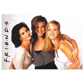 """Friends (TV) (1994)"" Poster Print"