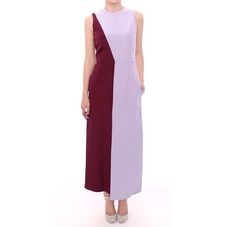 Barbara Casasola Purple Lavender Gown Maxi Silk Long Dress