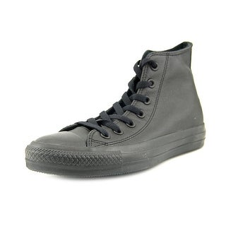 Converse Chuck Taylor As Hi Youth Round Toe Canvas Black Sneakers
