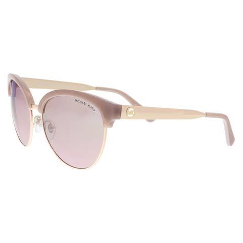Michael Kors MK2057 33097E Milky Pink/ Rose Gold Cat eye Sunglasses - 56-17-140