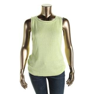 Jones New York Womens Sleeveless Stretch Pullover Top - XL