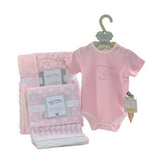 Link to Welcome Baby 6 Piece Shower Gift Set, Pink or Blue Similar Items in Gift Sets