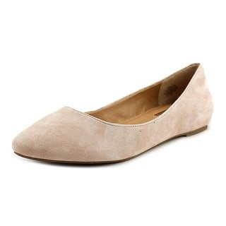 Audrey Brooke Mojito Women  Round Toe Suede Pink Flats