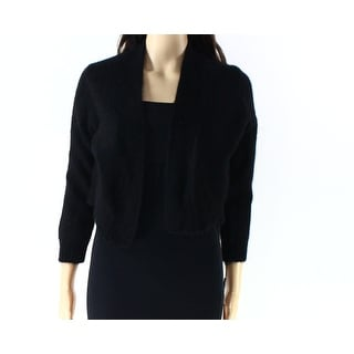 Calvin Klein NEW Black Womens Size Small S Cardigan Open Front Sweater