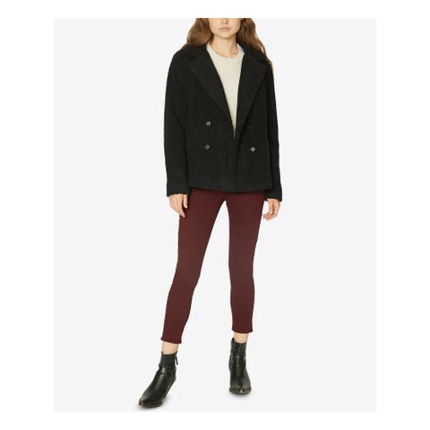 SANCTUARY Womens Black Peacoat Coat Size XS