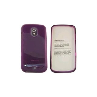 OEM Verizon High Gloss Silicone Cover Case for Samsung Galaxy Nexus i515 - Purpl