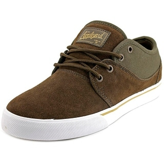 Globe Mahalo Men Round Toe Suede Brown Skate Shoe