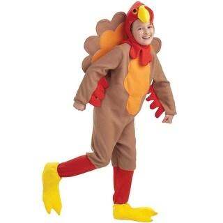 Forum Novelties Fleece Turkey Child Costume (S) - Brown - Small