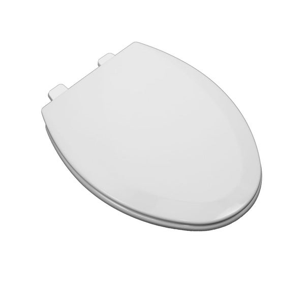 ProFlo PFTSWEC2000 Elongated Closed Front Toilet Seat and Lid - N/A