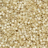 Miyuki Delica Seed Beads 11/0 - Silver Lined Light Honey DB1458 7.2 Grams