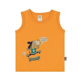 Baby Boy Tank Top Infant Graphic Muscle Shirt Pulla Bulla Sizes 3-12 Months