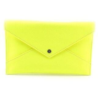Danielle Nicole Tina Clutch Women PVC Clutch - Yellow