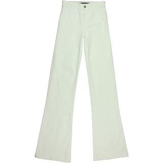 J Brand Womens Denim High Waist Flare Jeans