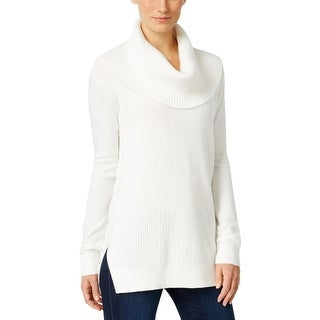 MICHAEL Michael Kors Womens Pullover Sweater Knit Ribbed