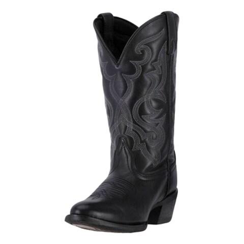 "Laredo Western Boots Womens 11"" Maddie Cowboy Round Toe Black"