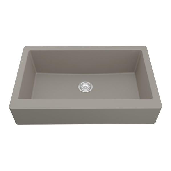 Karran Retrofit Apron Quartz Single Bowl Kitchen Sink. Opens flyout.