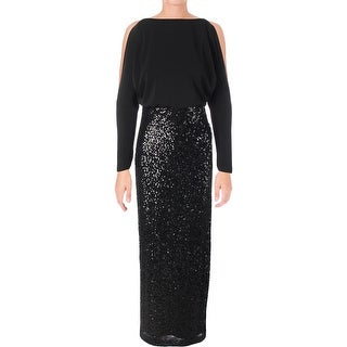 Lauren Ralph Lauren Womens Semi-Formal Dress Evening Sequin
