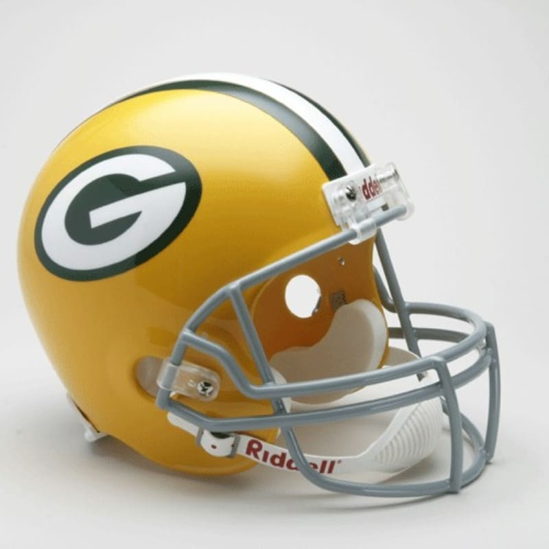 low priced c6d04 745b3 Green Bay Packers 1961-79 Throwback Riddell Deluxe Replica Helmet