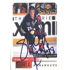 Sheldon Keefe Tampa Bay Lightning 2000 Upper Deck MVP Stanley Cup Edition Prospects Autographed Car