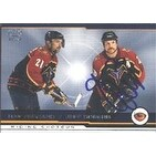 Jeff Odgers Atlanta Thrashers 2002 Pacific Riding Shotgun Autographed Card This item comes with a