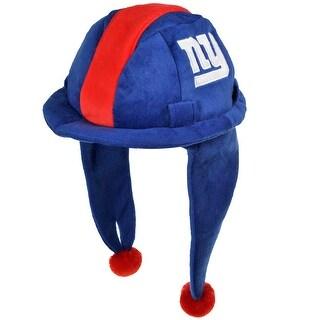 NFL New York Giants Plush Mascot Dangle Hard Hat - Blue