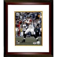 Matt Schaub signed Atlanta Falcons 8x10 Photo Custom Framed PSA Hologram