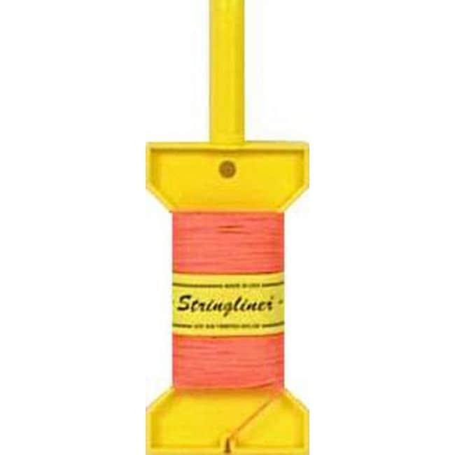 Stringliner 11406 Dry Line Construction Reel, Orange, 270 Ft