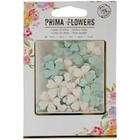 Prima Marketing Tiny Flowers 36/Pkg-Opal