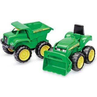 35874 Dump Truck & Tractor, 2 Pack