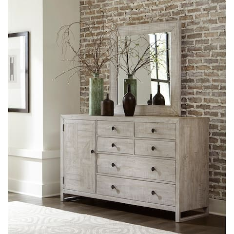 Studio 20 Drawer Dresser and Mirror by Palmetto Home