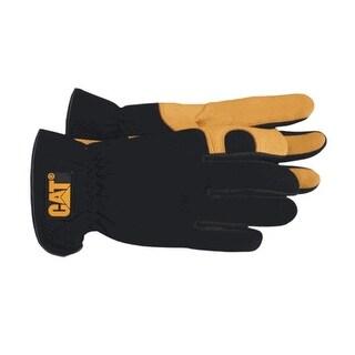 Cat CAT012205J Premium Deerskin with Gel Pad Gloves, Jumbo