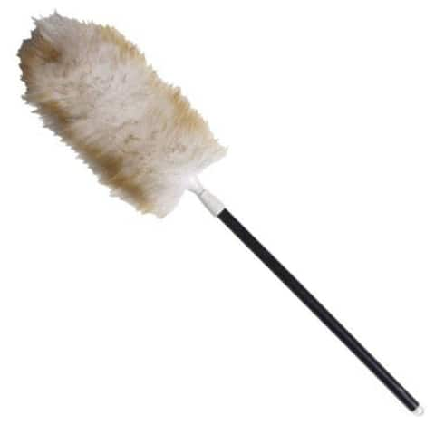 Unger 961420 Telescopic Lambs Wool Duster, 28-43""