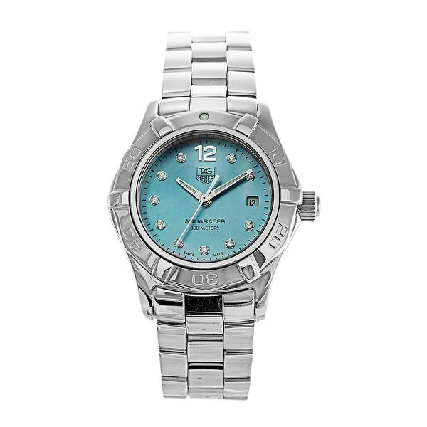 Tag Heuer Women's WAF1419.BA0813 'Aquaracer' Stainless Steel Watch. Opens flyout.