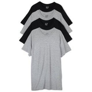 Fruit of the Loom Mens 4PK Heathered T-Shirt - XL