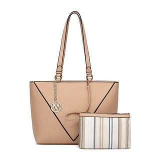 MKF Collection Pipa Shopper Tote with Wristlet by Mia K. Farrow
