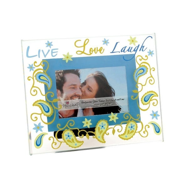 Top Shelf Live, Love, Laugh Picture Frame