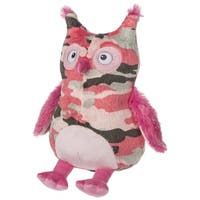 Mary Meyer Pink Camo Owl Plush Toy