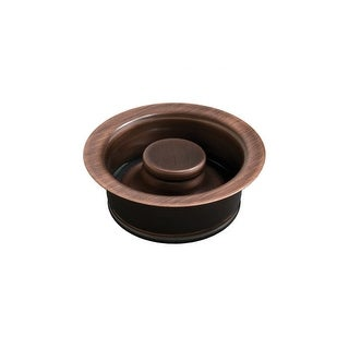 """Signature Copper BDC-DF35 Disposal Stopper and Flange for Kitchen Sinks, 3.5"""" Drain Opening"""