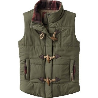 Legendary Whitetails Women's Plaid Lined Quilted Puffer Vest