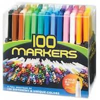 Pro Art Bullet Nib Markers 100/Pkg-