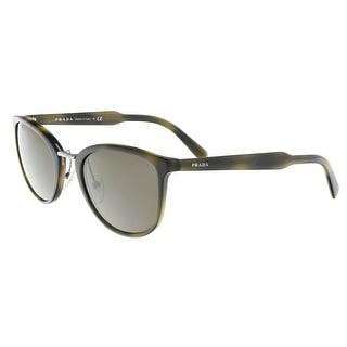 3e45063345f2 ... order shop prada pr 22ss u6a5s2 striped green square sunglasses free  shipping today overstock 23005365 8c940