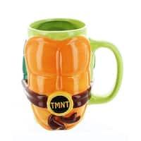 Teenage Mutant Ninja Turtles Shell 32oz Ceramic Mug - Multi