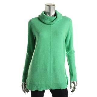 Lauren Ralph Lauren Womens Vainia Cashmere Cowl Neck Pullover Sweater