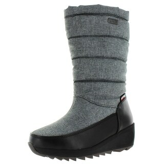 Kamik Detroit Women's Nylon Waterproof Snow Boots