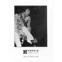 ''Jimi Hendrix'' by Jean C. Desaint Music Art Print (27.5 x 19.75 in.)