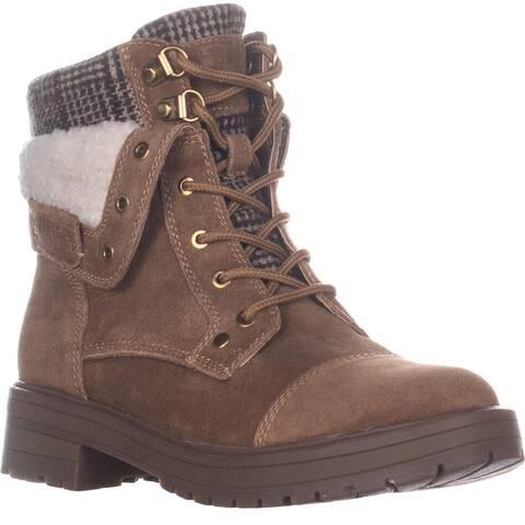 Tommy Hilfiger Dyan Ankle Boots, Medium Brown Suede