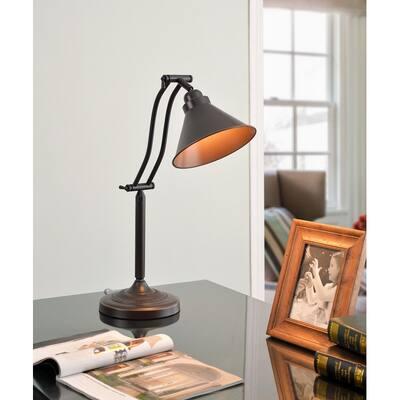 Marr Oil Rubbed Bronze Adjustable Desk Lamp