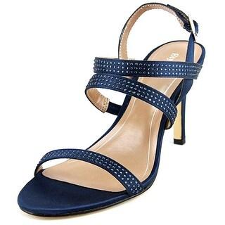 Style & Co Urey Women Open Toe Canvas Blue Sandals