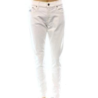 Polo Ralph Lauren NEW Beige Women's Size 32X29 Slim Skinny Jeans